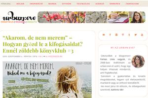 Farkas lívia blogja - urban:eve