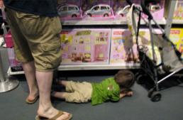 Hisztizik a gyerek