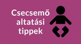 Csecsemő altatás tippek