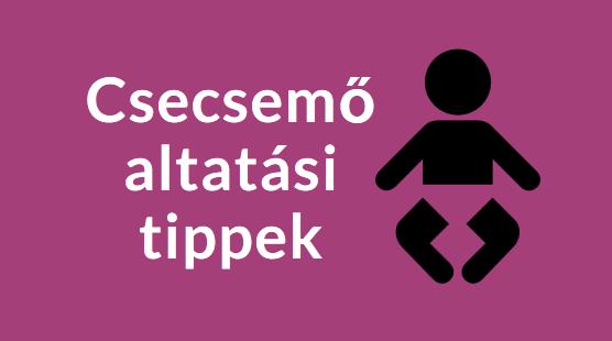 csecsemő altatás tipp
